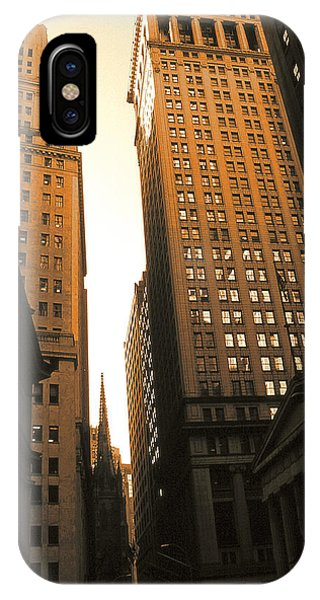 Old New York Wall Street IPhone Case