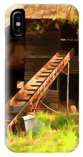 Old North Carolina Barn And Rusty Equipment   IPhone Case