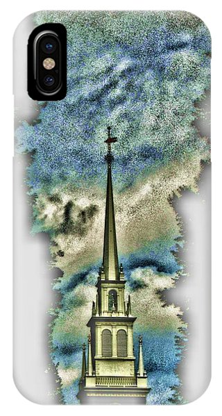 Old North Church Steeple IPhone Case