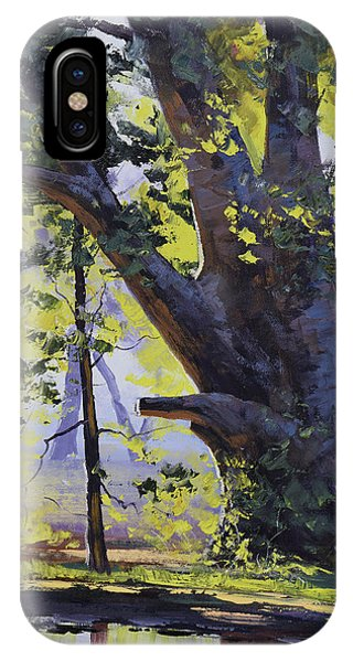 Nature Scene iPhone Case - Old Oak Tree by Graham Gercken