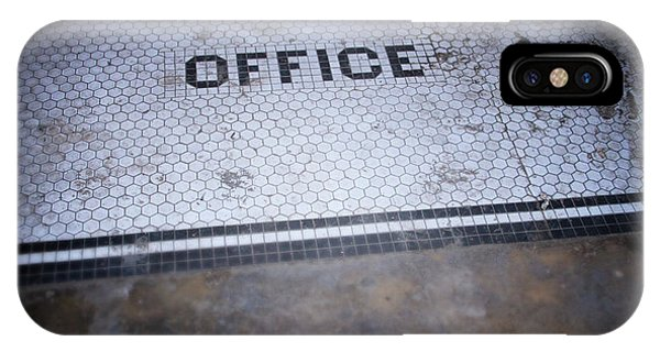 Office Decor iPhone Case - Old Office- Urban Photography By Linda Woods by Linda Woods