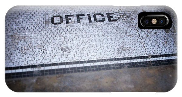 Tile iPhone Case - Old Office- Urban Photography By Linda Woods by Linda Woods