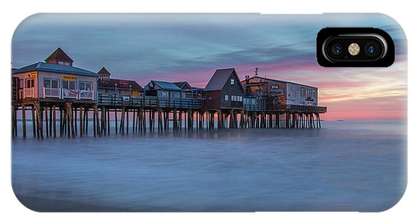 Old Orcharch Beach Pier Sunrise IPhone Case