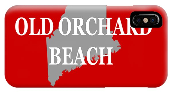 Orchard Beach iPhone Case - Old Orchard Beach Maine State City And Town Pride  by Keith Webber Jr