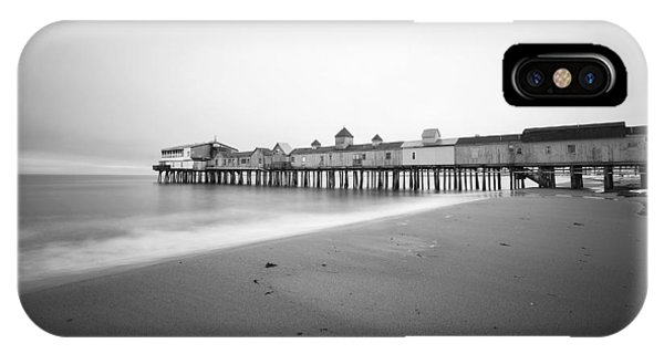 Orchard Beach iPhone Case - Old Orchard Beach Pier by Eric Gendron