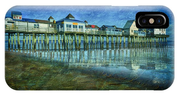 Orchard Beach iPhone Case - Old Orchard Beach Pier  Oob by Susan Candelario