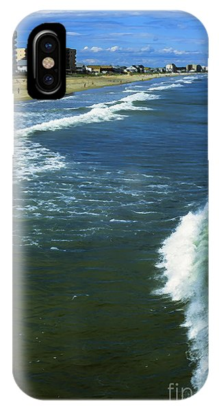 Orchard Beach iPhone Case - Old Orchard Beach by Thomas R Fletcher