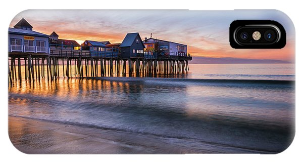Orchard Beach iPhone Case - Old Orchard Beach by T-S Fine Art Landscape Photography