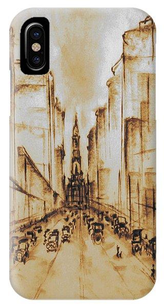 Old Philadelphia City Hall 1920 IPhone Case
