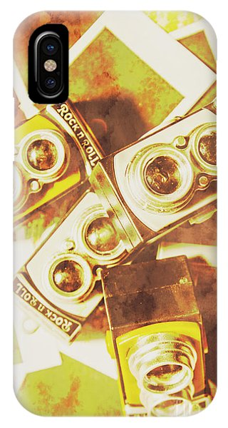 Cameras iPhone Case - Old Photo Cameras by Jorgo Photography - Wall Art Gallery