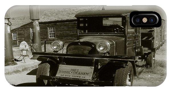 Old Pickup Truck 1927 - Vintage Photo Art Print IPhone Case