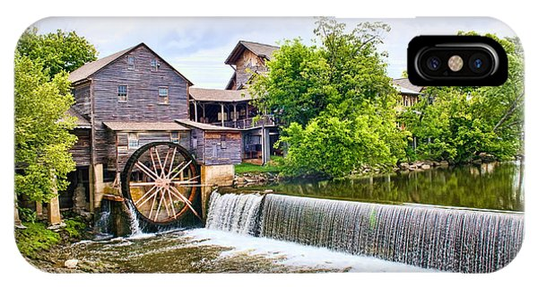 Old Pigeon Forge Mill IPhone Case