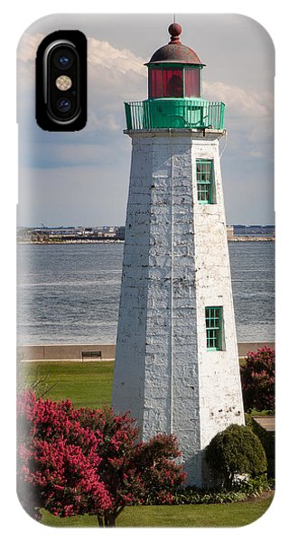 Old Point Comfort Light IPhone Case