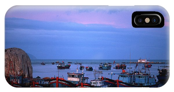 Old Port Of Nha Trang In Vietnam IPhone Case