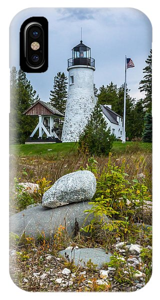 Old Presque Isle Lighthouse IPhone Case