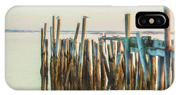 Old Provincetown Wharf IPhone Case