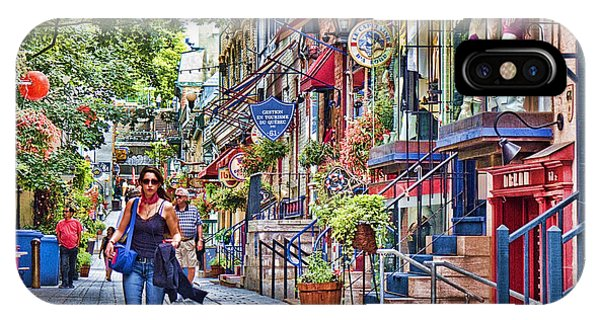 Quebec City iPhone Case - Old Quebec City by David Smith