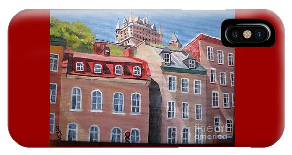 Old Quebec City IPhone Case