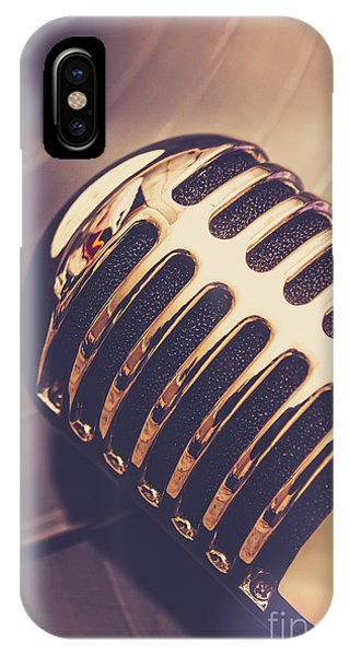 Musical iPhone Case - Old Radio Nostalgia by Jorgo Photography - Wall Art Gallery