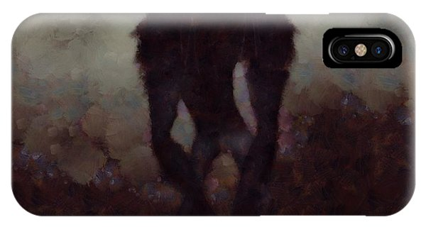 Strange iPhone Case - Old Red Eyes by Esoterica Art Agency