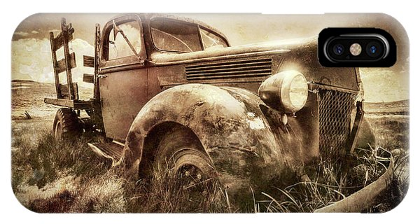 IPhone Case featuring the photograph Old Relic by Sharon Seaward