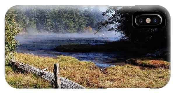 Old River Scene IPhone Case