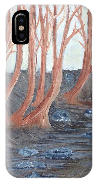 Old Road Through The Trees IPhone Case