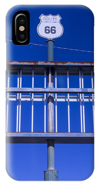 Timeworn iPhone Case - Old Route 66 Decaying Sign by Garry Gay