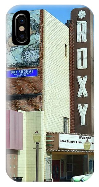 Old Roxy Theater In Muskogee, Oklahoma IPhone Case