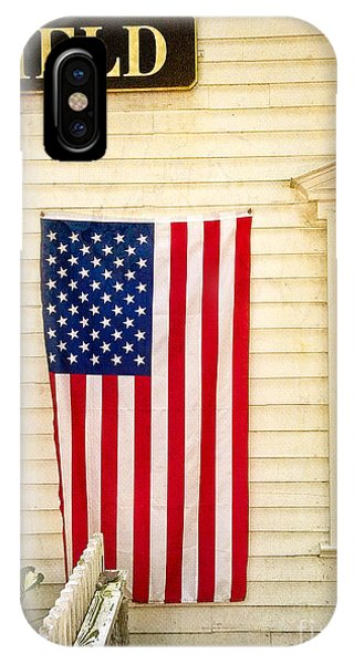 Old Rugged Field Flag IPhone Case
