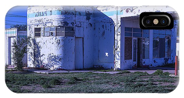 Timeworn iPhone Case - Old Run Down Gas Station by Garry Gay