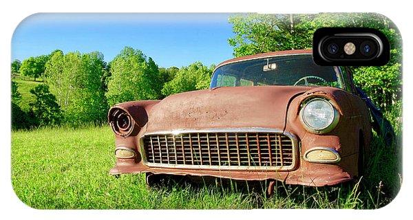 Old Rusty Car IPhone Case