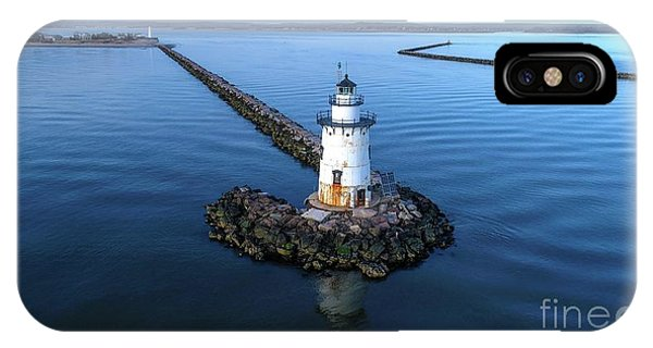 Old Saybrook Outer Lighthouse IPhone Case