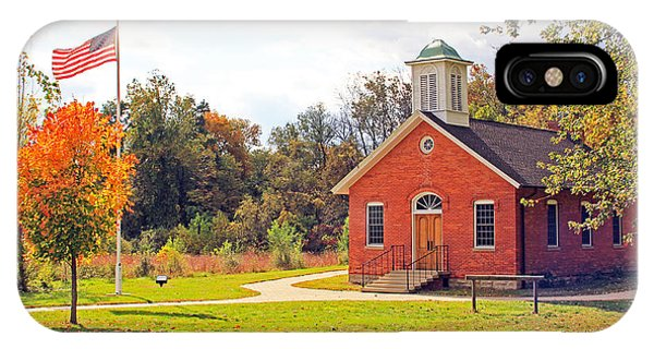 Old Schoolhouse-wildwood Park IPhone Case