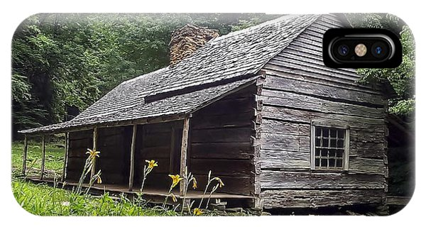 Old Settlers Cabin Smoky Mountains National Park IPhone Case