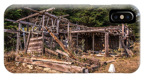 Old Shack In Cambria Pines IPhone Case