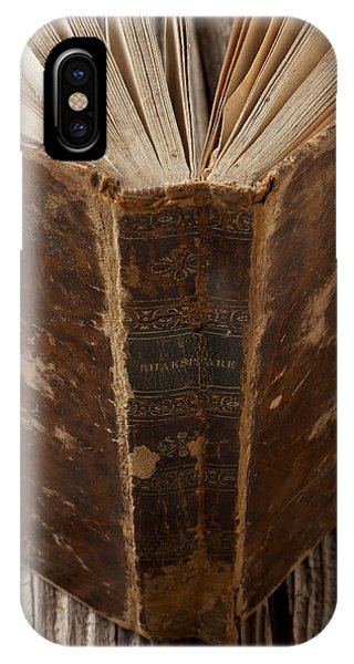 Spines iPhone Case - Old Shakespeare Book by Garry Gay