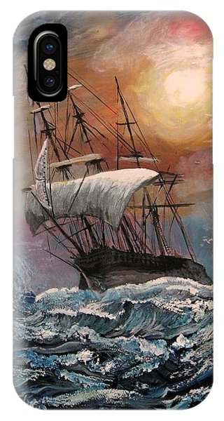 old Ship of Zion IPhone Case