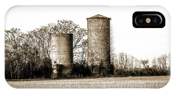 Old Silos IPhone Case