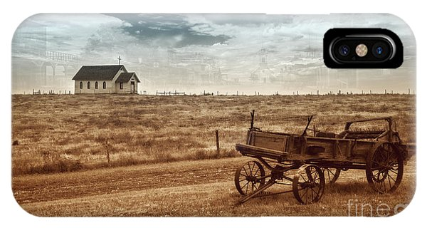 IPhone Case featuring the photograph Old South Dakota Town by Sharon Seaward