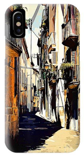 Old Spanish Street IPhone Case