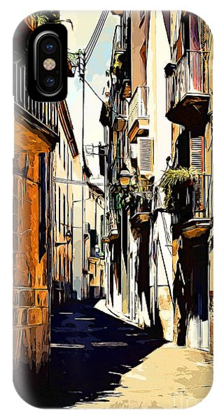 Old Spanish Street IPhone Case