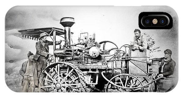 Old Steam Tractor IPhone Case