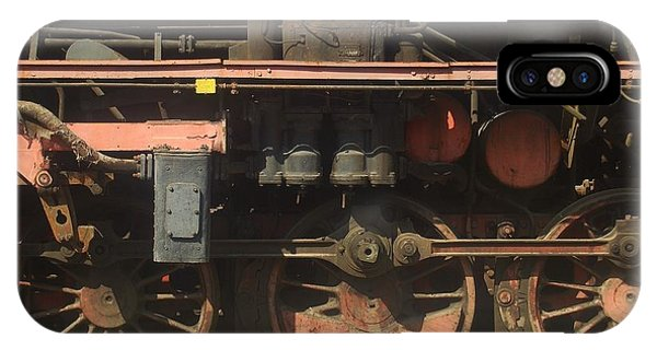 Old  Steam Train ...france IPhone Case