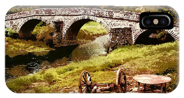 Old Stone Bridge In France IPhone Case