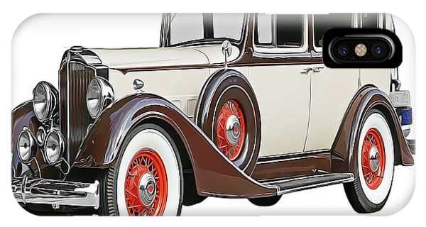 iPhone Case - Old Time Auto by Harry Warrick