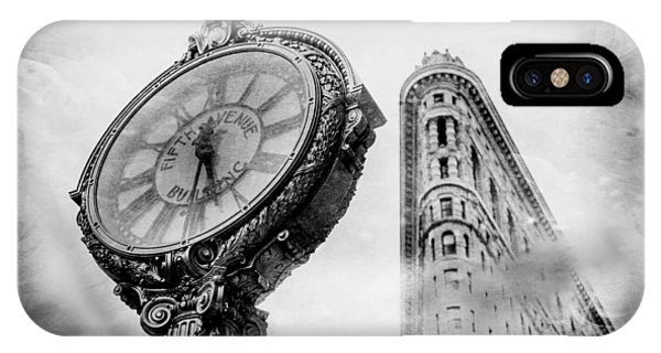 Architectural iPhone Case - Old Time's Sake by Az Jackson