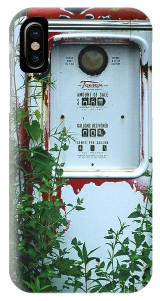 6g1 Old Tokheim Gas Pump IPhone Case