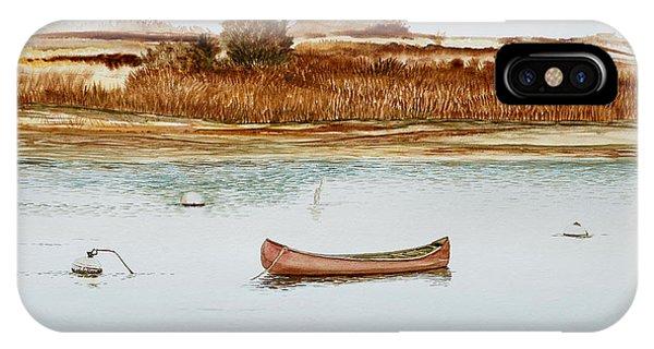 Old Town Canoe Menemsha Mv IPhone Case