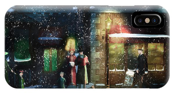 Old Town Christmas Eve IPhone Case
